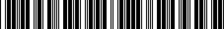 Barcode for F501SXC020