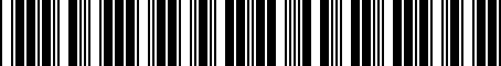 Barcode for H7110FJ001