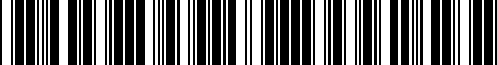 Barcode for J131SXC100