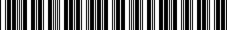 Barcode for J501SFL020